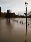 Photograph  Flooded Worcester
