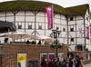 Photograph  Globe theatre in London