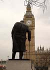 Photograph  Churchill statue in London